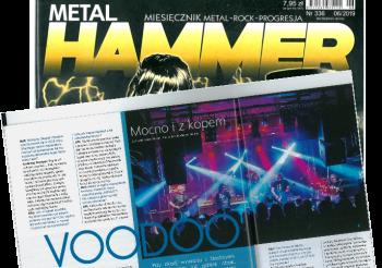 Wywiad z VooDoo w Metal Hammer.